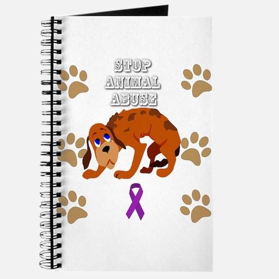 Stop Animal Abuse Awareness Journal