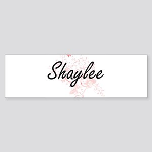 Shaylee Artistic Name Design with B Bumper Sticker