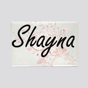 Shayna Artistic Name Design with Butterfli Magnets