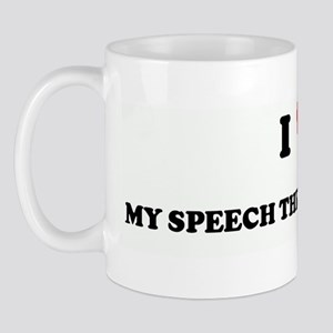 I Love MY SPEECH THERAPIST NI Mug