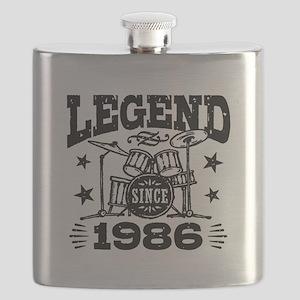 Legend Since 1986 Flask