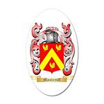 Mosheyoff 35x21 Oval Wall Decal