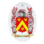 Moshevitch Oval Ornament