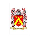 Mosheshvily Sticker (Rectangle 50 pk)