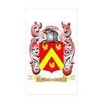 Mosheshvili Sticker (Rectangle 10 pk)