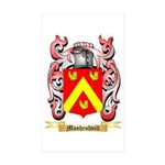Mosheshvili Sticker (Rectangle 50 pk)