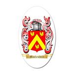 Mosheshvili 35x21 Oval Wall Decal