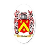 Moshes Oval Car Magnet