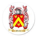 Moshe Round Car Magnet