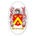 Moshe Sticker (Oval)