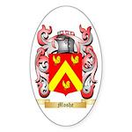 Moshe Sticker (Oval 50 pk)