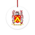 Moshe Round Ornament