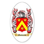 Moshayov Sticker (Oval 50 pk)