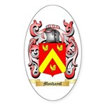 Moshayof Sticker (Oval 50 pk)