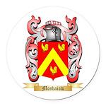 Moshaiow Round Car Magnet