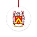 Moshaiov Round Ornament