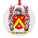 Mosezon Round Ornament
