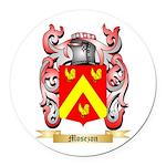 Mosezon Round Car Magnet
