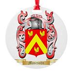 Mosesohn Round Ornament