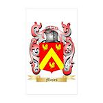 Moses Sticker (Rectangle 50 pk)