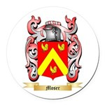 Moser Round Car Magnet