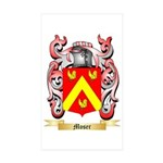 Moser Sticker (Rectangle 10 pk)