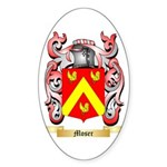 Moser Sticker (Oval 50 pk)