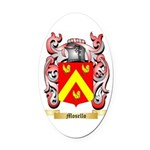 Mosello Oval Car Magnet