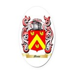 Mose Oval Car Magnet