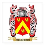 Moschowitsch Square Car Magnet 3