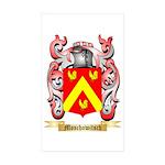 Moschowitsch Sticker (Rectangle 50 pk)