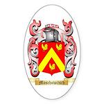 Moschowitsch Sticker (Oval)