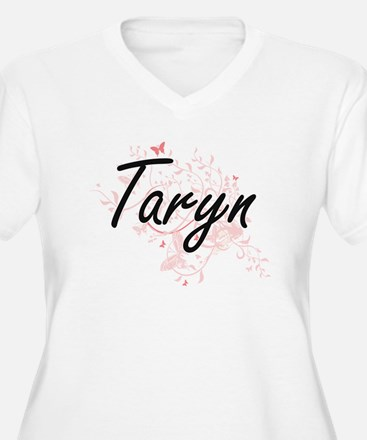 Taryn Artistic Name Design with Plus Size T-Shirt