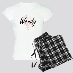 Wendy Artistic Name Design Women's Light Pajamas