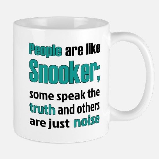 People are like Snooker Small Mug