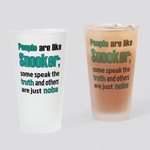 People are like Snooker Drinking Glass