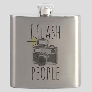 I Flash People - Photography Flask