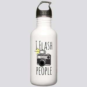 I Flash People - Photo Stainless Water Bottle 1.0L