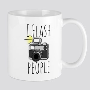 I Flash People - Photography Mug