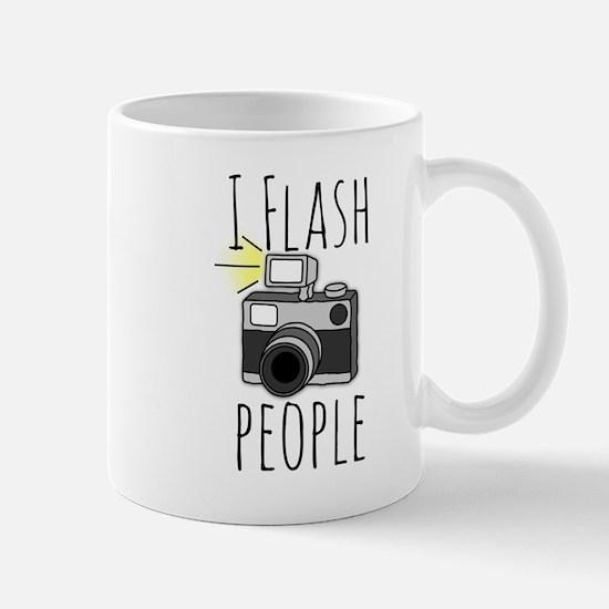 I Flash People - Photography Mug