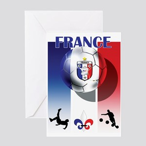 France Football Greeting Cards