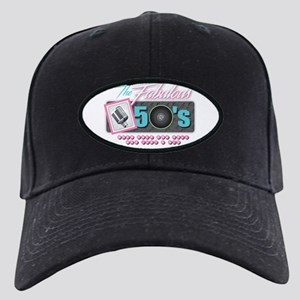 Fabulous 50s Black Cap
