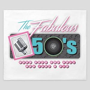 Fabulous 50s King Duvet