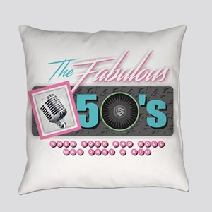 Fabulous 50s Everyday Pillow