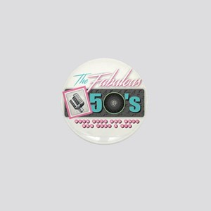 Fabulous 50s Mini Button