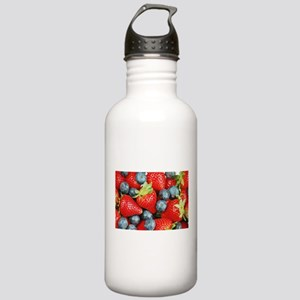 Blueberries and strawb Stainless Water Bottle 1.0L