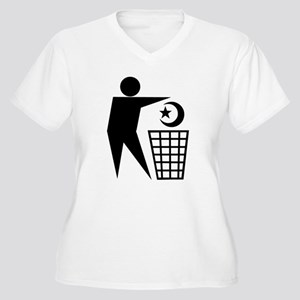 Trash Religion (Muslim Version) Women's Plus Size