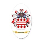 Moschini Oval Car Magnet