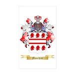 Moschini Sticker (Rectangle 50 pk)