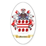 Moschini Sticker (Oval 50 pk)